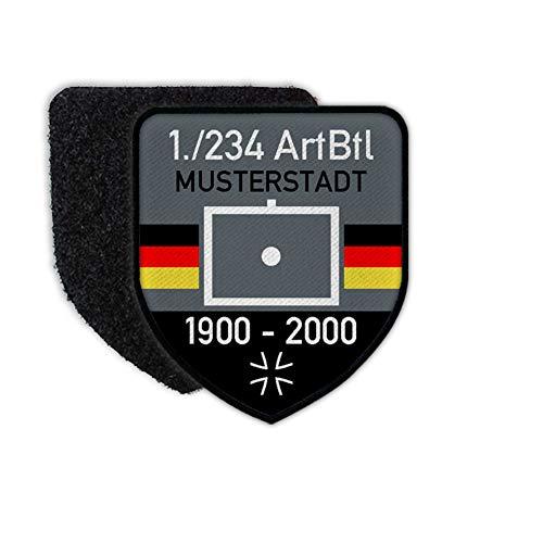 Copytec Patch BW ArtBtl Dienstzeit Artillerie Bundeswehr Abzeichen Deine Einheit #27415