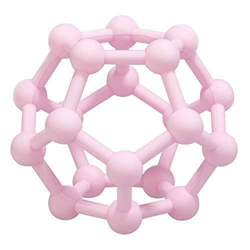 MCGMITT Sensorische Bälle für Babys und Kleinkinder zum Greifen und Kauen, Neugeborene sensorische Genballspielzeuge Kinderspielzeug Geschenke für frühkindliche Bildung (Rosa)