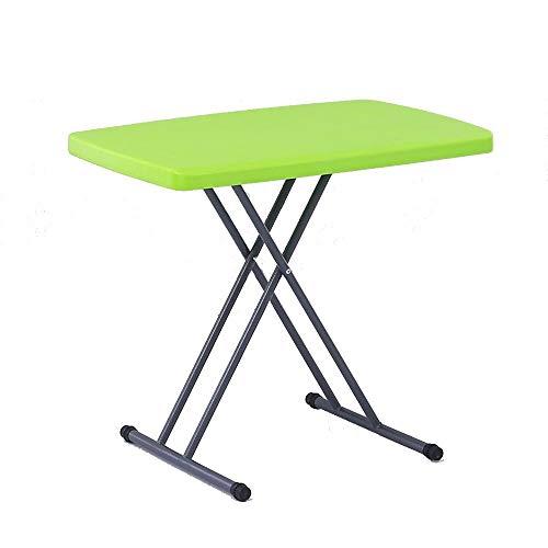 Soporte Portátil Las Estaciones de Trabajo de Ordenador de Mesa de plástico Plegable portátil de Butler Mesa de Altura Ajustable los 66CM (Color : #3)