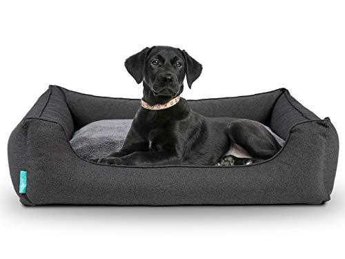 Hyggins Dreamer Perfect Hundebett   Wendekissen orthopädisch   Bezug abnehmbar und...