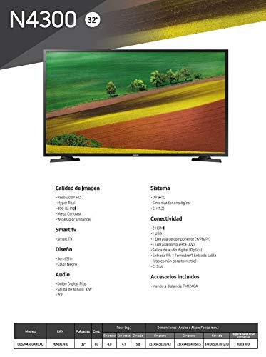 Samsung HD 32N4300 - Smart TV HD de 32