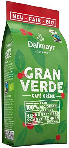 Dallmayr Gran Verde ganze Bohnen, Bio, 220 g