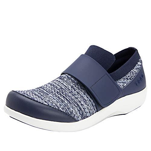 Alegria TRAQ Qwik Womens Smart Walking Shoe Flurry Blue 8 M US