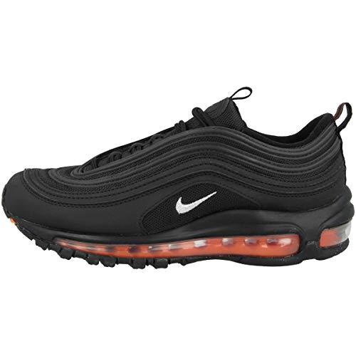 Nike Zapatillas unisex para niños Low Air Max 97 (GS), color Negro, talla 38.5 EU