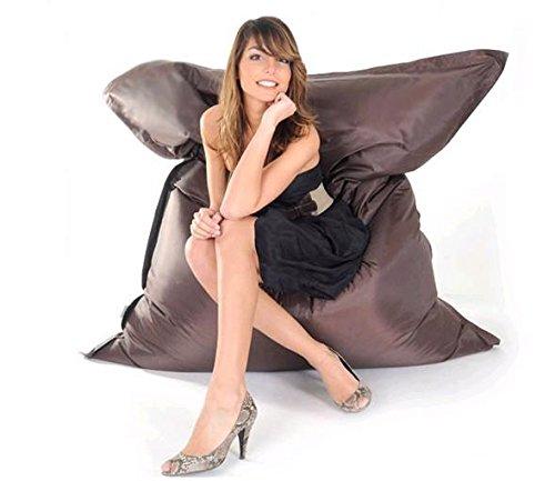 Beanbag Noir (canapé froid) 180 x 140 cm (pas de remplissage, doublure uniquement) Capacité de 450 litres.