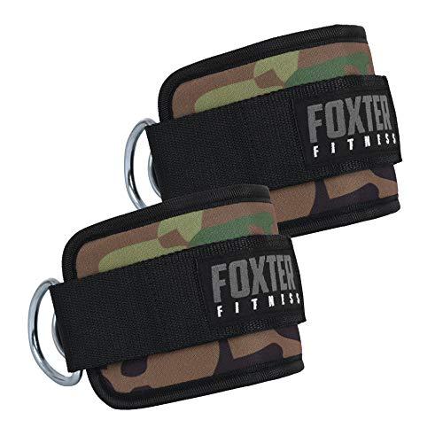 Foxter - Juego de Correas de Tobillo para máquinas de Cable, guía, puños...