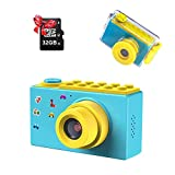 Kriogor Digital Camera Boys Girls, Waterproof Kids Camera and Video Camcorder 8 Megapixel/4X Zoom/32G TF Card, Birthday Gift for Kids (Blue) - Best Reviews Guide