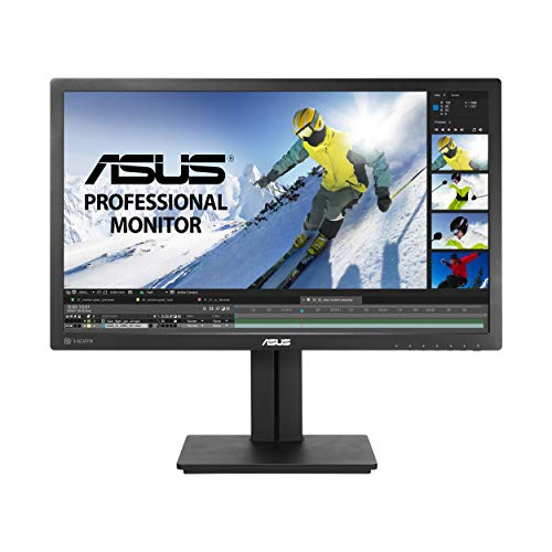"Asus PB278QV 27"" Professional Monitor 75Hz WQHD (2560 X 1440) Adaptive-Sync Eye Care DisplayPort HDMI Dual-Link DVI VGA,Black"