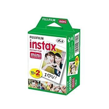 Fujifilm INSTAX Mini Instant Film 2 Pack = 20 Sheets  White  for Fujifilm Mini 8 & Mini 9 Cameras Model 4332059078