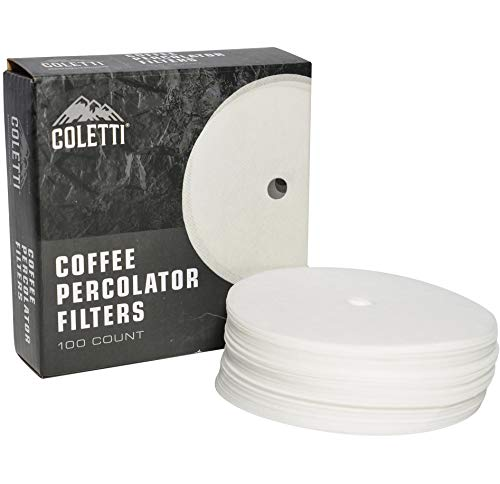 Melitta 3.5 Inch White Disc Coffee Filters Pack of 4