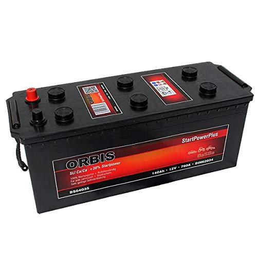 Orbis BS64035 12V 140Ah 760A HD LKW-Batterie