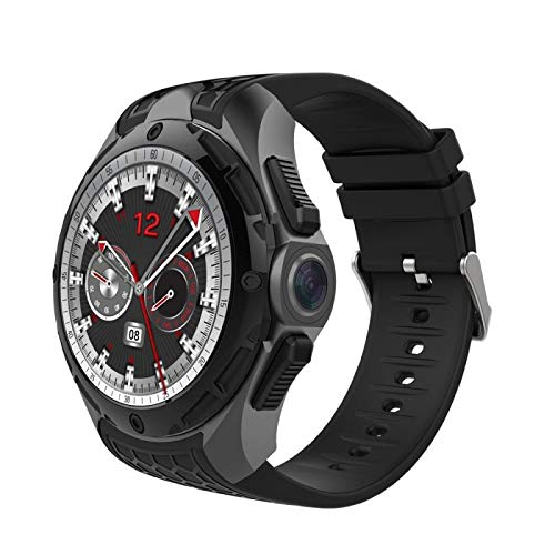 AllCall W2 Android 7 Smartwatch Quad Core 2GB+16GB 1.3inch Bluetooth GPS 2MP 3G