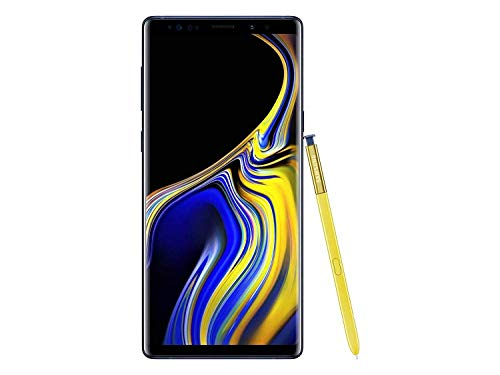 Samsung Galaxy Note 9 SM-N960F/DS 128GB/6GB 6.4? QHD+ sAMOLED Factory Unlocked GSM (No CDMA) - International Version (No Warranty in The USA) (Ocean Blue) - Ocean Blue