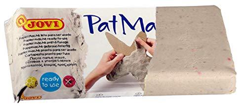 JOVI 10541 Pâte Modeler Patmache Papier Mache Pret à l'emploi Pain de 680g Assorties