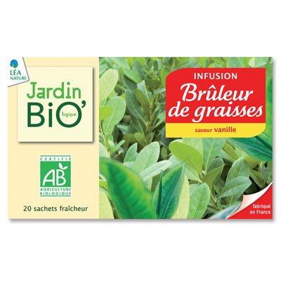 Jardin BiO' Infusion Brûleur de graisses - 20 sachets