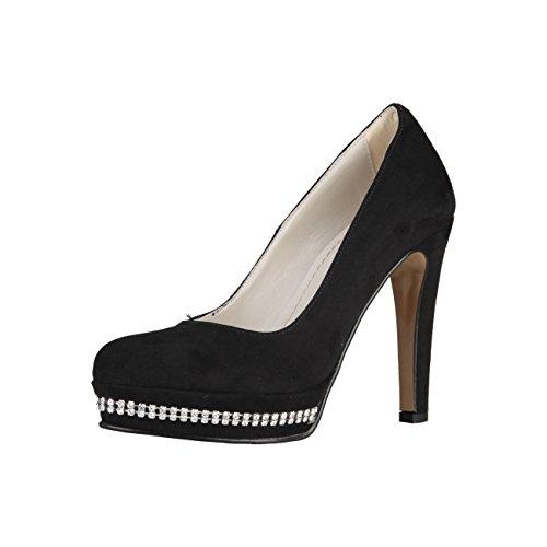 Prima Donna - Zapatos de Vestir de Material Sintético para Mujer Negro Schwarz/Black 39