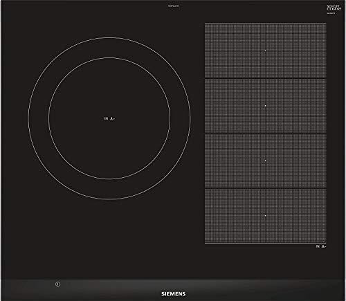 Siemens EX675LJC1E iQ700 - Placa de inducción, Zona 28cm | 60 cm Ancho, Flexinducción, 17 niveles,...