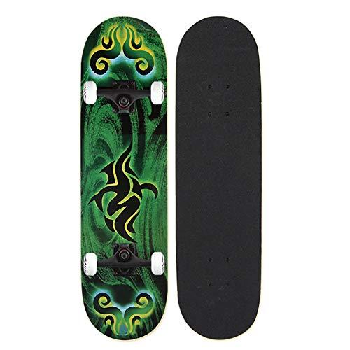 Skateboard mit coolem Design ABEC 9 Kugellager, Skateboard 31