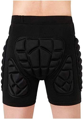 Protector Pads EVA Vullen Shorts, Protection Hip, Beschermende Toestel anti-Fall Shorts Rolschaatsen Diaper skibroek for Volwassenenonderwijs Kid Kinderen (Color : Black, Size : XS)