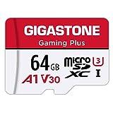 Gigastone Micro SD Card 64GB マイクロSDカード フルHD アダプタ付 adapter SDXC U1 C10 90MB/S 高速 micro sd カード Class 10 UHS-I Full HD 動画