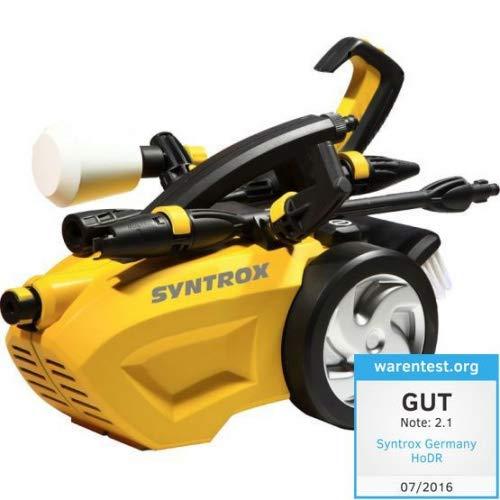 Syntrox Germany Hochdruckreiniger mit Staussystem Flächenreiniger Kombigerät