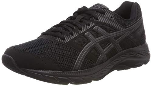 Asics Gel-Contend 5, Zapatillas de Running para Hombre, Negro (Black/Black 002), 44.5 EU
