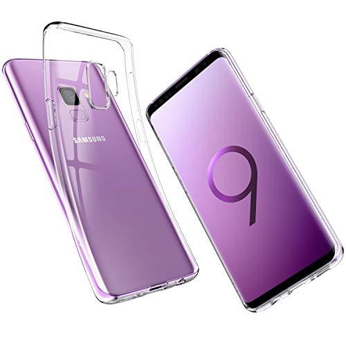 UNBREAKcable Cover Samsung Galaxy S9 - Custodia Samsung Galaxy S9 [Supporta la Ricarica Wireless] Silicone Ultra Sottile Case per Samsung Galaxy S9 - Cristallo Trasparente
