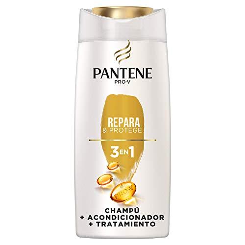 Pantene Pro-V Repara & Protege Champú, Acondicionador y Tratamiento 3 en1, Combate al Instante los Signos del Daño, 675 ml
