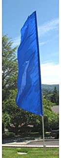 NEOPlex Solid Feather Swooper Flag Color: Royal Blue