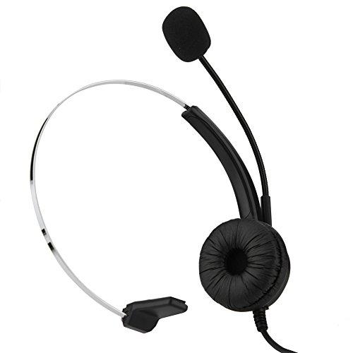 Auriculares inalámbricos con micrófono, centro de llamadas USB Auriculares inalámbricos con cancelación de ruido, diadema estirable, función de silencio, apto para computadora, teléfono, caja de escri