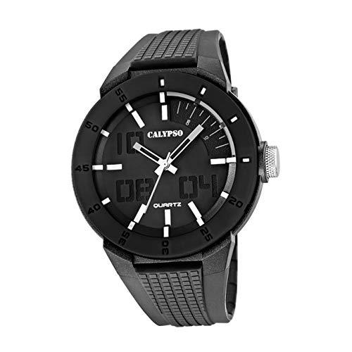 Calypso UK5629/1 - Reloj para Hombres, Correa de Goma Color Gris