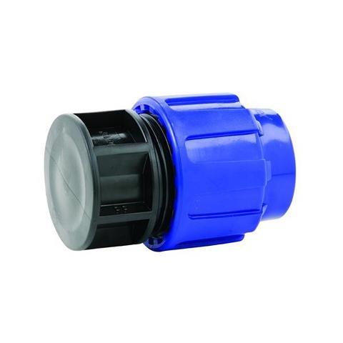 vers. Anschlüsse 32mm PE Rohr Kunststoff Fitting PP Klemmverbinder (32 mm Endkappe)