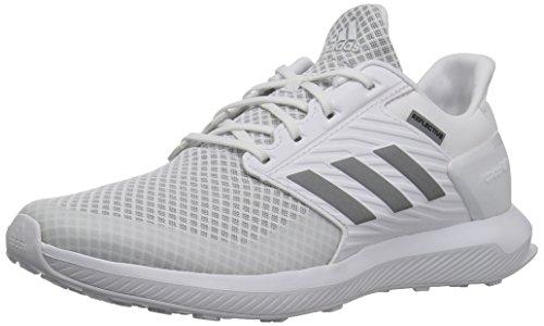 adidas Unisex-Kids Rapidarun Running-Shoes, White/White/White, 12 M US Little Kid