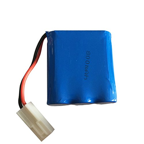 Parts & Accessories Original 9.6v 800mAh Battery for JYRC S911 9115 9116 S912 RC Car Truck Spare Rechargeable 9.6V Battery for 9115 RC Car 15-DJ02 - (Color: 1pcs, CN)