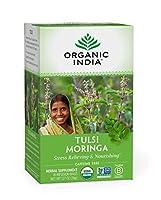 【正規輸入品】オーガニック インディア トゥルシー モリンガティー 18袋