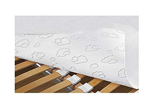Matras onderlegger 90 x 200 cm matrasbeschermer noppenbeschermer matras onderlegger anti-slip effect
