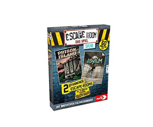 Noris 606101838 Escape Room Duo - Juego de Mesa para Adultos, Incluye...