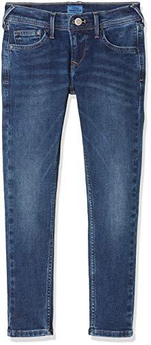 Pepe Jeans Finly Jeans, Blu (Medium Used Denim Gk5), 13-14 Anni (Taglia Produttore: 14) Bambino