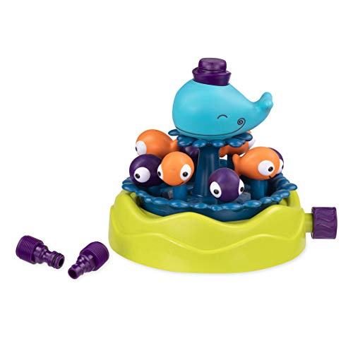 Battat- ARROSEUR Baleine-Whale Sprinkler BTOYS France Jouet, BX1527, Multicolore