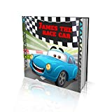 Personalized Storybook by Dinkleboo -'The Race Car' - for Kids Aged 2 to 8 Years Old - A Story About Your Child Wanting to be The Fastest Racing Car When They Grow Up - Soft Cover (8'x 8')