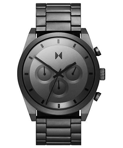 MVMT Reloj Analógico para Hombre de Cuarzo con Correa en Acero Inoxidable 28000048-D