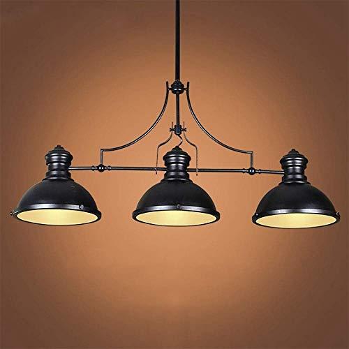 YUNZHI Beleuchtung Hanging Pool Tischlampe for Spielzimmer, Bier Party, Spherical Entwurf, Metall Pool Lampe, Geeignet for 7~9 Fuß Billardtisch