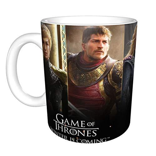 Taza de café de Game of Thrones Winter is Coming para capuchino,...