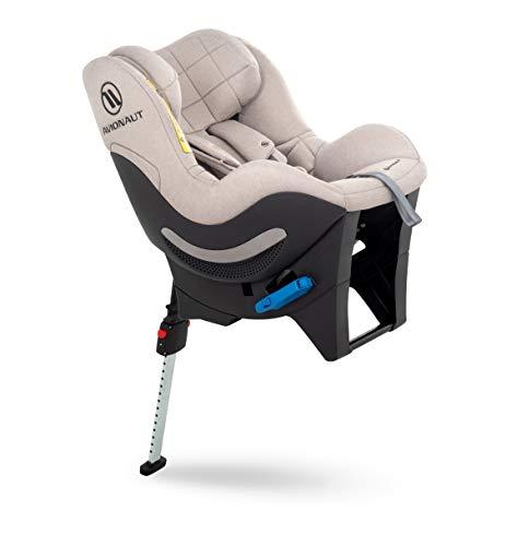 Avionaut Sky RWF Kindersitz, Reboarder (gegen Fahrtrichtung), Kinder-Autositz Gruppe 0+/1/2 (0-25 kg, 40 cm - 125 cm), nutzbar ab der Geburt bis ca. 7 Jahre, Beige Melange