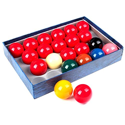 """ZHTY 2 1/16""""Harz Snooker Billard Ball Set-22 Spielball"""