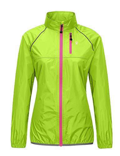 HIViz Cycling Rain Jacket 100/% Waterproof Jogging Running New Top Rain Cover