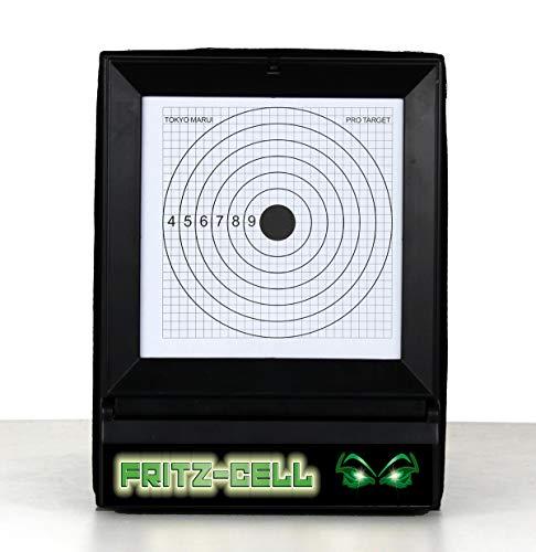 fritz-cell Softair Target Kugelfang Zielscheibe inkl. Pendelziel Airsoft Ziel BB