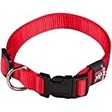Arppe 2240012501 Collar Nylon Basic, Rojo