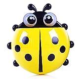 Portaspazzolino creativo insetti Forma bambini porta spazzolino per Bagno (giallo)