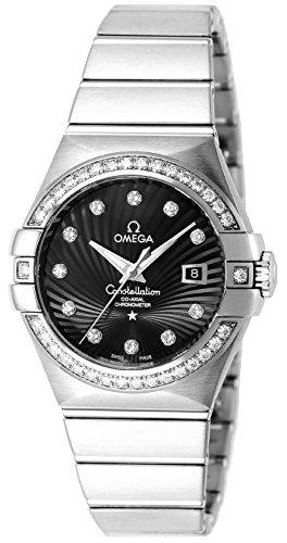 [オメガ] 腕時計 コンステレーション ブラック文字盤 コーアクシャル自動巻 123.55.31.20.51.001 並行輸入品 シルバー